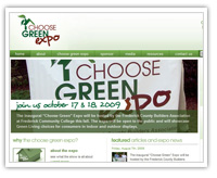 choose green expo web site