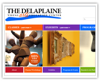 Delaplaine Visual Arts and Education web site